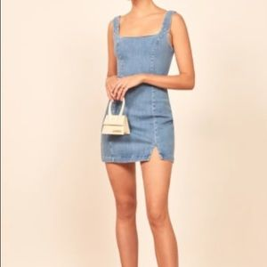 Reformation (soft denim) Marc Dress